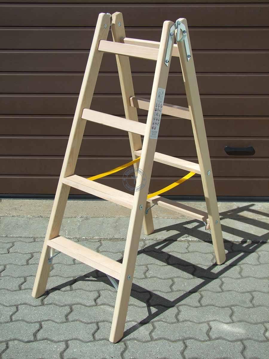Ergonomische Leiter mit Haltesprosse 4-stufig | Ergonomische ...