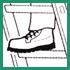 richtiges Schuhwerk tragen